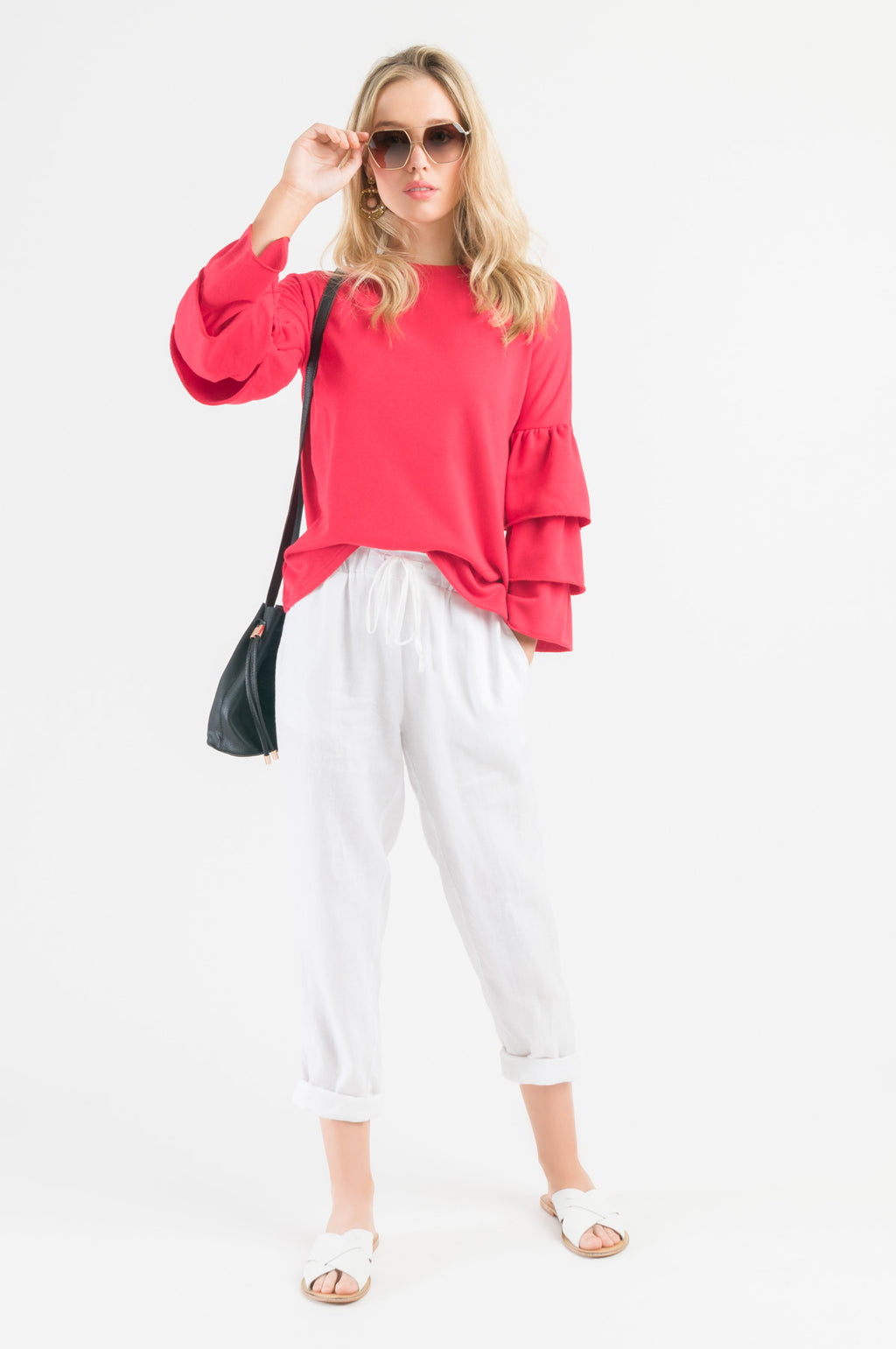 Flutter Sweatshirt - Rose