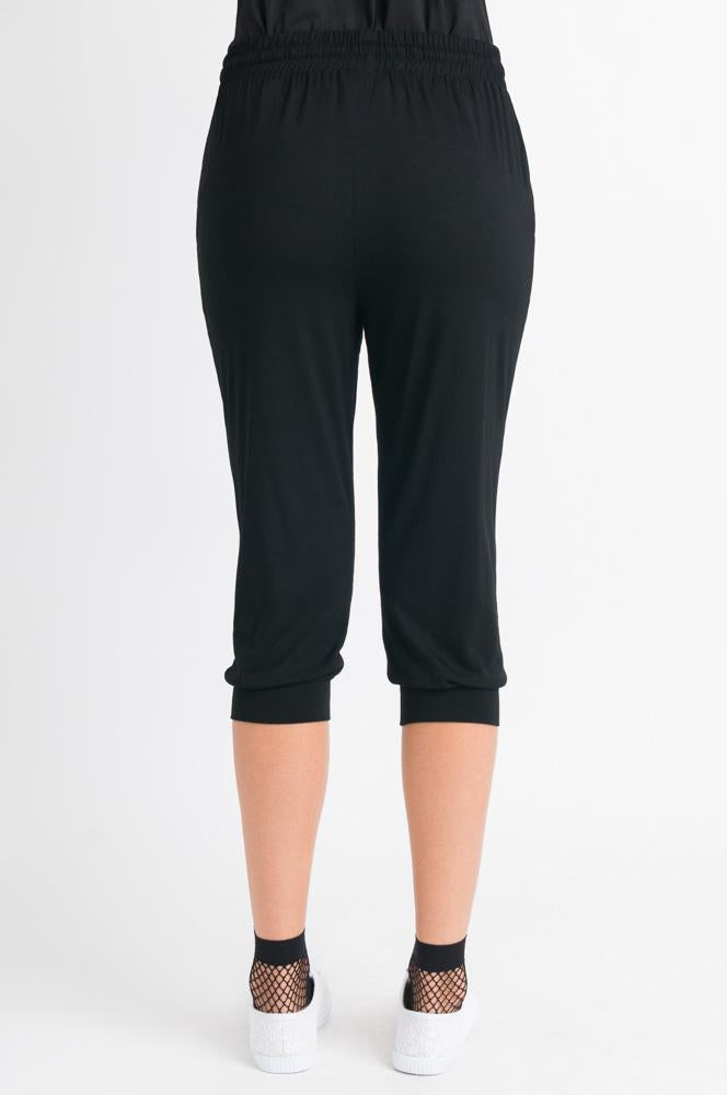 Crop Stretch Pant - Black