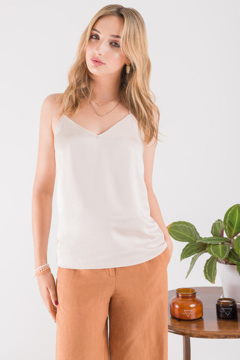 Cami Top - Soft Blush