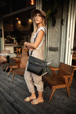 Duffle&Co: The Zahra Bag - Black