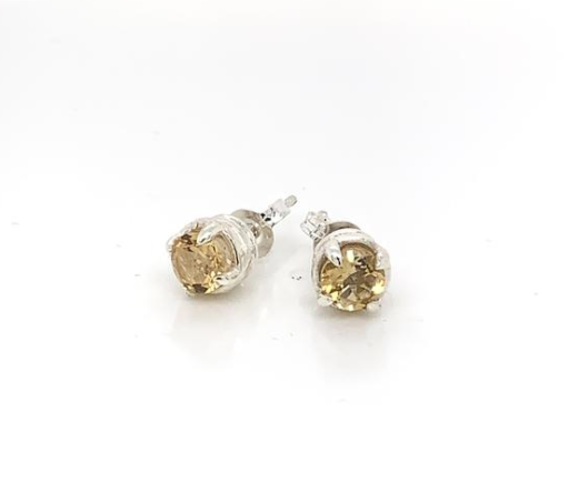 Wicken: Songbird Nest Earrings - Silver