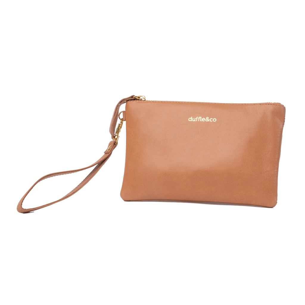 Duffle&Co: The Reese Pouch - Light Tan