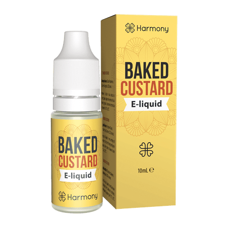 CBD E-Liquid Baked Custard