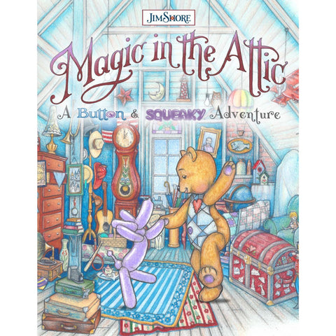 JSBNS Book Magic in the Attic