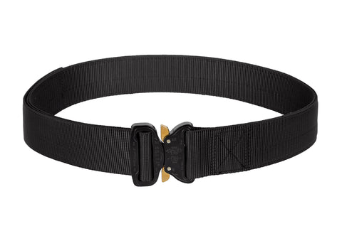 "Black Double Duty 1.75"" EDC Belt - Applied Gear, everyday carry, tactical belt, tactical gear"
