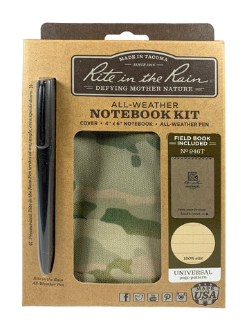 "Rite in Rain All-Weather 4"" x 6"" Kit - Applied Gear, everyday carry, tactical belt, tactical gear"