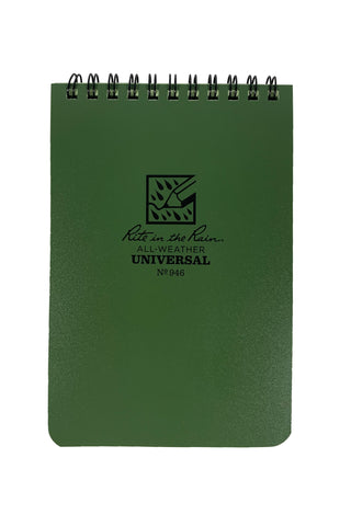 Rite in the Rain All-Weather Universal No 946 Notepad - Applied Gear, everyday carry, tactical belt, tactical gear