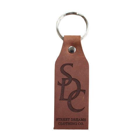 SDC Keychain in Brown