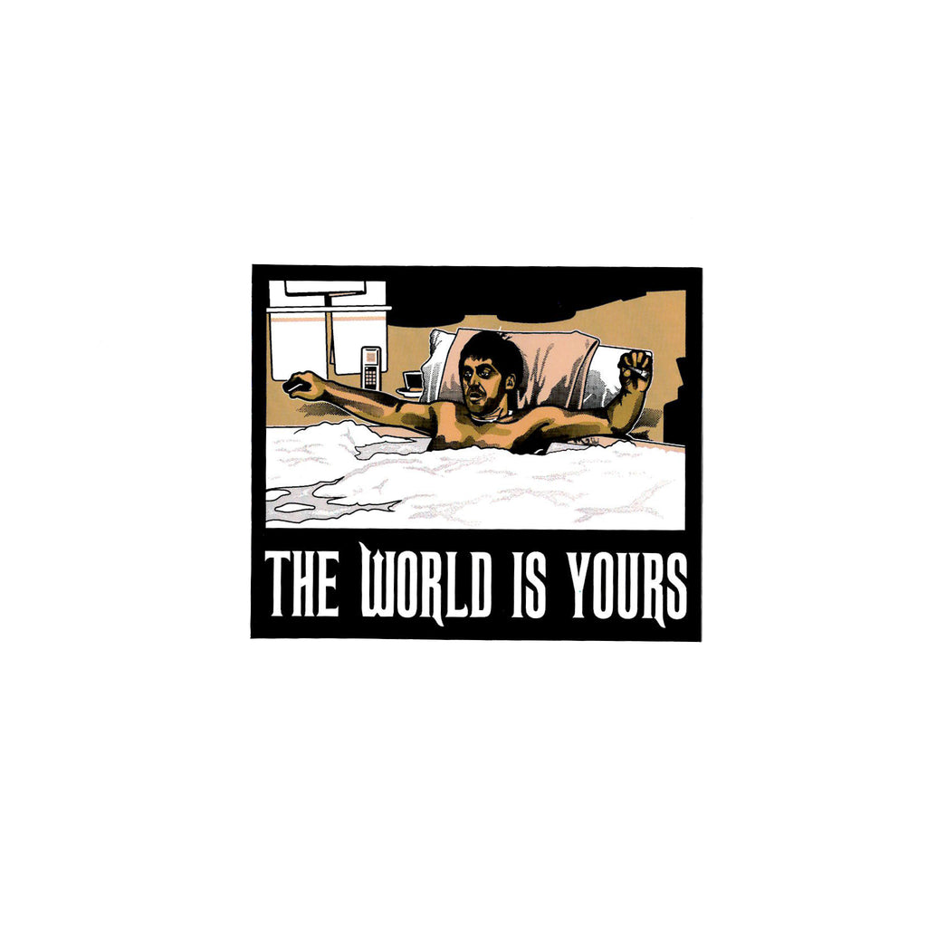 World Is Yours Sticker