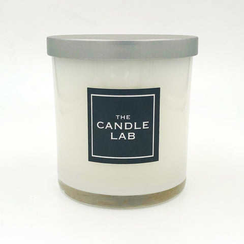 White Christmas Candle
