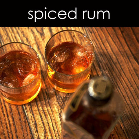 Spiced Rum Candle