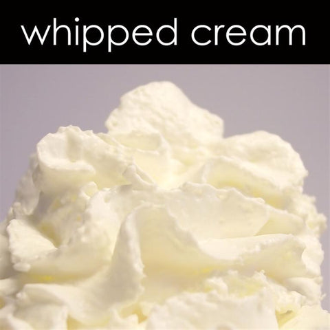 Whipped Cream Candle