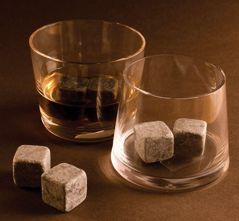 Whiskey Stones or Stainless Steel Whiskey Stones