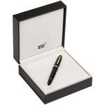 Montblanc Meisterstuck 149 Black Gold Trim Fountain Pen