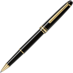 Mont Blanc 145 Meisterstück Gold-Coated Classique Rollerball