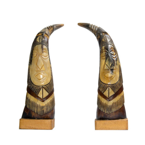 African Patterned Ivory Tusk
