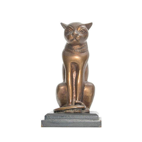Bronze Sculpted Cat