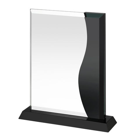 Shop Black Glass Crystal Award