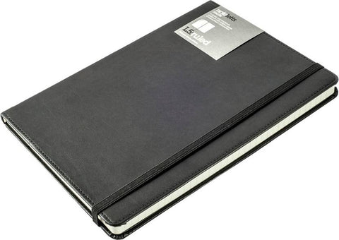 Letts A5 Black Notepad