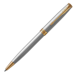 Parker Sonnet Stainless Steel Gold Trim Ballpoint Pen