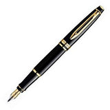 Waterman Expert Black Lacque Fountain Pen