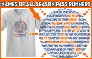 2018 Summer Series Runners Tshirt