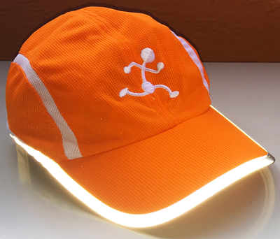 Reflective running hat