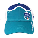 Two Tone Blue Snap Back Cap