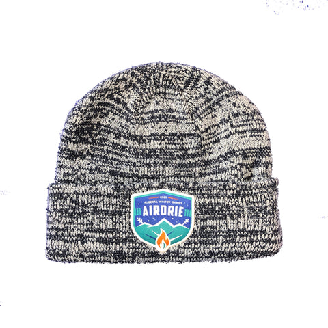 Navy Blue Pepper Beanie Toque