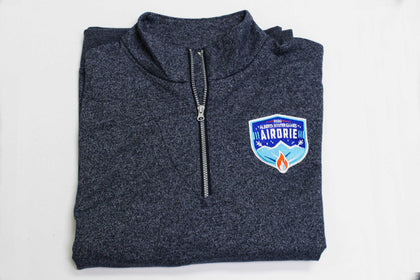 Navy Blue Pepper Quarter Zip Sweatshirt