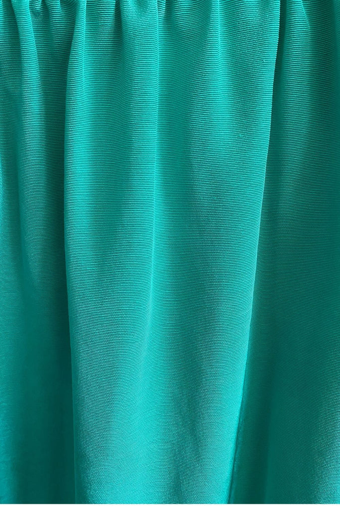 Green Moire Madeline Dress