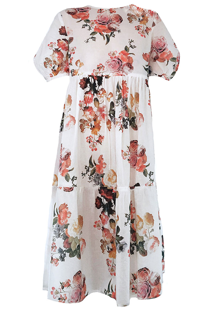 Cotton Voile Madeline Dress