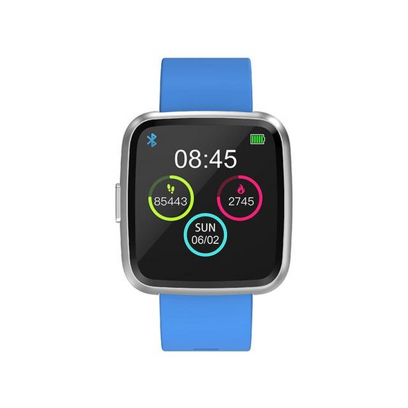 Waterproof Sport Tracker smartwatch with Heart Rate Blood Pressure Monitor