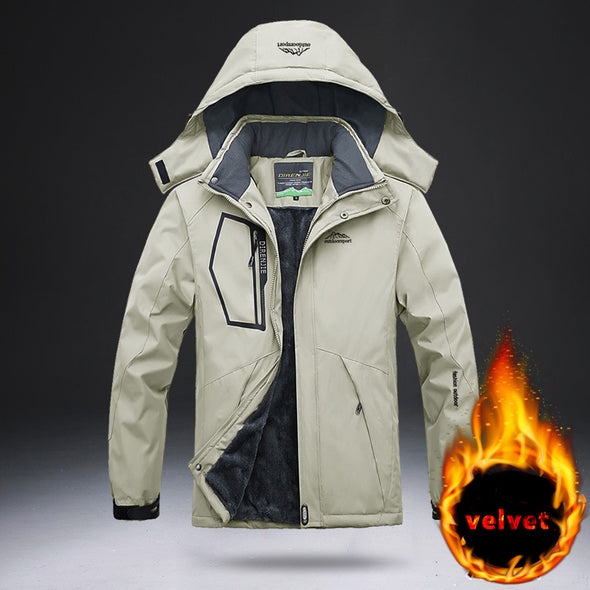 -30 Degree Super Warm Waterproof Snowboard Snow Jacket