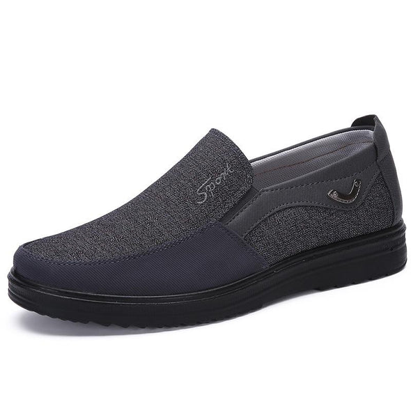 Men Soft Casual Shoes Breathable  Large Size Flat Shoes