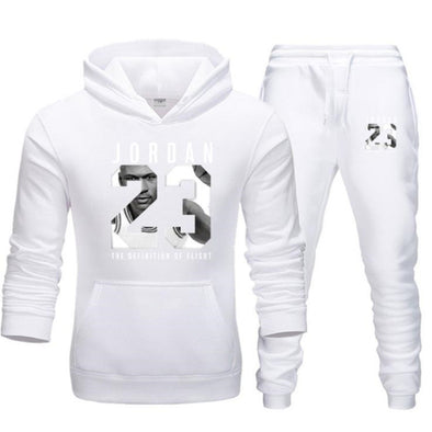 New Men Fleece Hoodie+Sweat pants Jogging Sports Suits