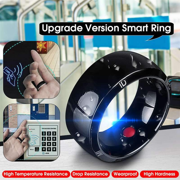 Waterproof Unlock Health Protection NFC Smart Ring