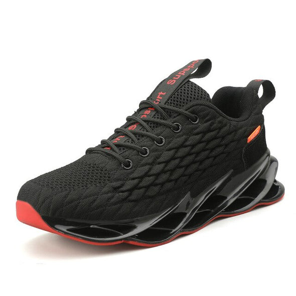 Men Hollow Soles Outdoor Athletic Training Jogging Sneakers