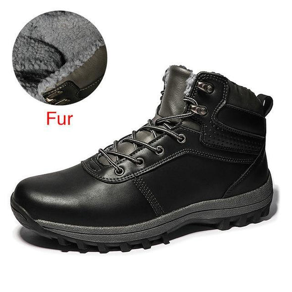 Waterproof Working Ankle Boots Top Men Shoes