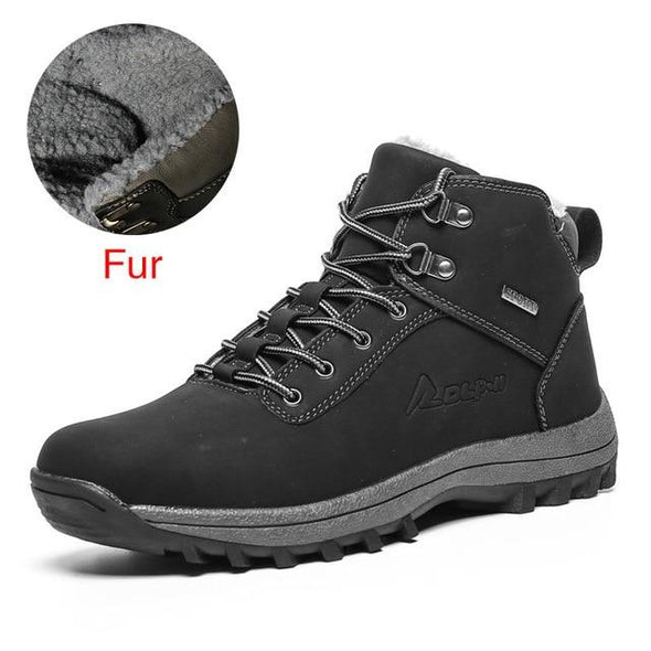 New Arrrival Outdoor Men Keep Warm Hiking Boots
