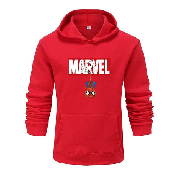 Brand Men's High Quality Letter Printing Long Fashion Hoodie