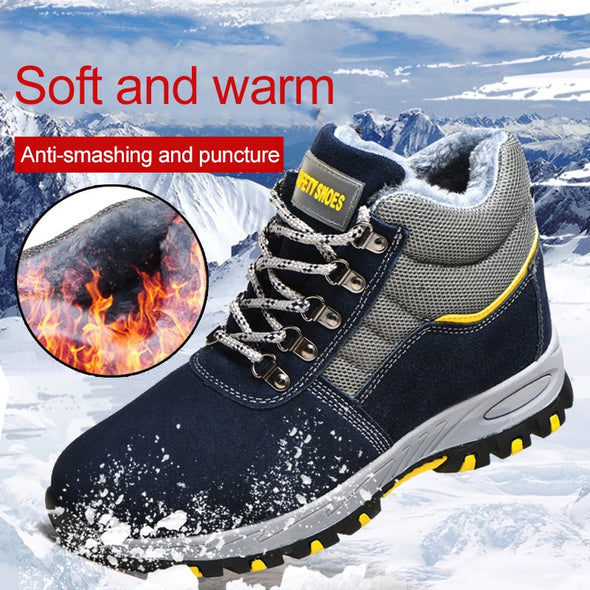 Winter Safety Work Boots Steel Toe Working  Hiking Boots