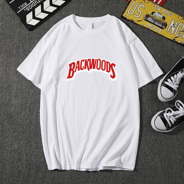 Summer Men Printing Fashion O-neck Cotton Hip Hop Rock Streetwear T-Shirt