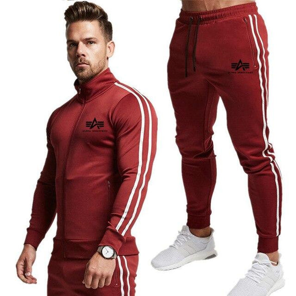 sportswear suit men's sportswear suit