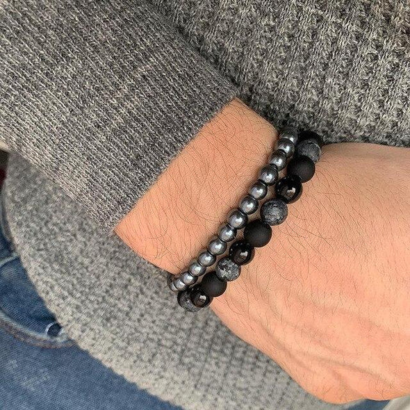 Men Bracelet New Fashion Natural stone