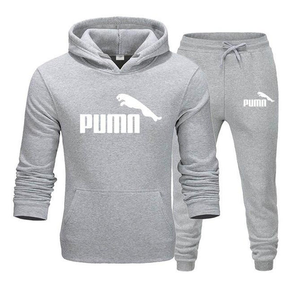 Fashion Two Pieces Sets Thick hoodies Tracksuit