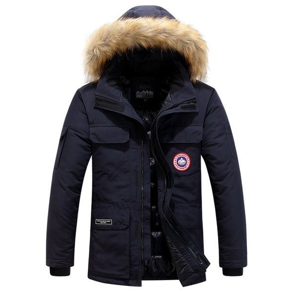 Fashion Winter Waterproof Windproof  Warm Cotton Coat