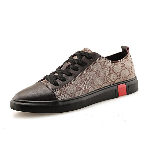 Fashion Men Casual Shoes  High Top Sneakers Luxury Footwear