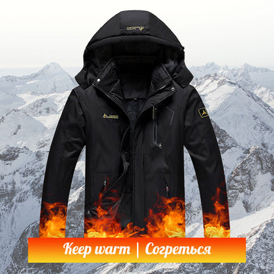 Winter Fleece Waterproof Skiing Hiking Outdors Jacket