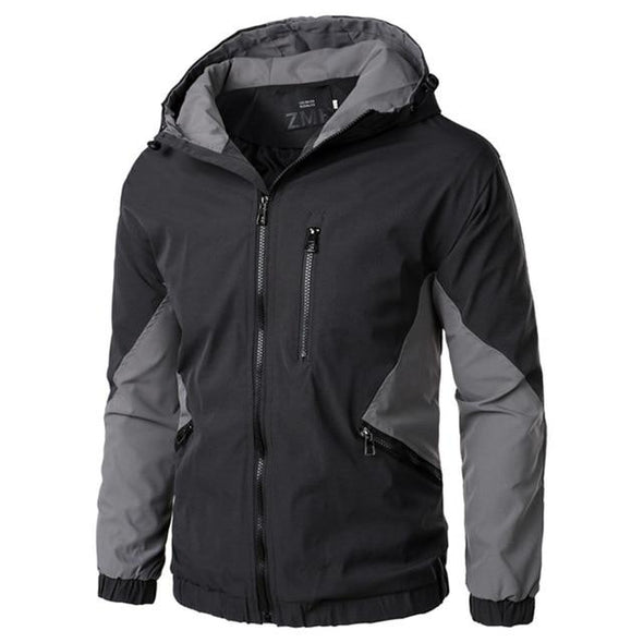 Winter Hooded Streetwear Bomber Jacket Windbreaker